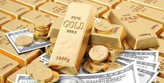 Harga Emas Naik sementara Dolar Turun ke Level Rendah 3 Tahun
