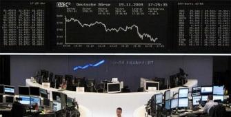 欧洲市场因轻交易量下滑
