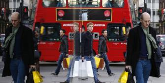 Рост розничных продаж в Британии существенно превысил прогноз