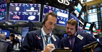 Wall Street Retreats as Tech, Consumer Staples Drop