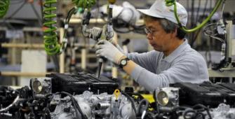 Mesin Inti Jepang Turun di Maret