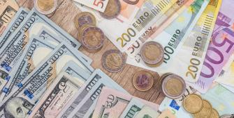 Доллар обновил шестимесячный максимум против евро на фоне слабых данных еврозоны