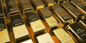 Gold Edges Up on Weaker U.S. Dollar