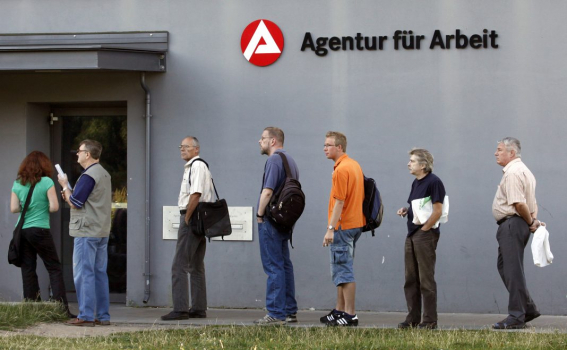 Безработица в ФРГ упала до рекордного минимума в мае