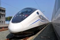 In China wurde ein neuer  Hochgeschwindigkeitszug prasentiert