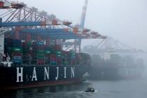 South Korea's Hanjin Shipping is declared bankrupt