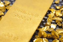 Gold Steady on Weaker Dollar