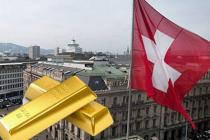 Власти Швейцарии отправили в КНР большие объемы золота