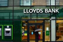 Банковская группа Lloyds Banking увеличила прибыль на 29% в I квартале