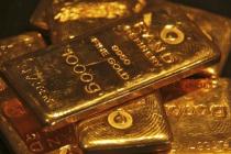 Harga Emas Naik Lebih Tinggi sementara Dolar, dan Imbal Hasil AS Turun