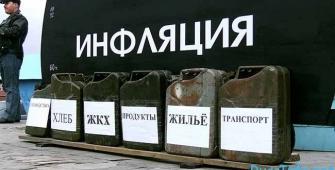 Годовая инфляция в России ускорилась до 5,2%
